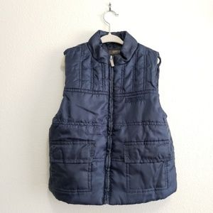 Kenneth Cole Reaction Blue Toddler Puffer Vest, 3T
